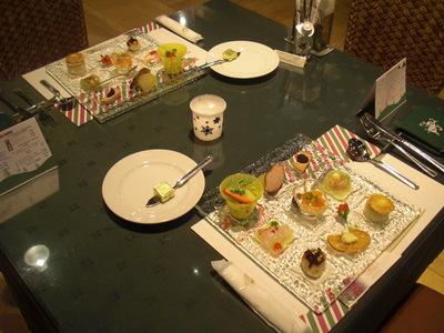 クリスマスコース前菜のサムネール画像